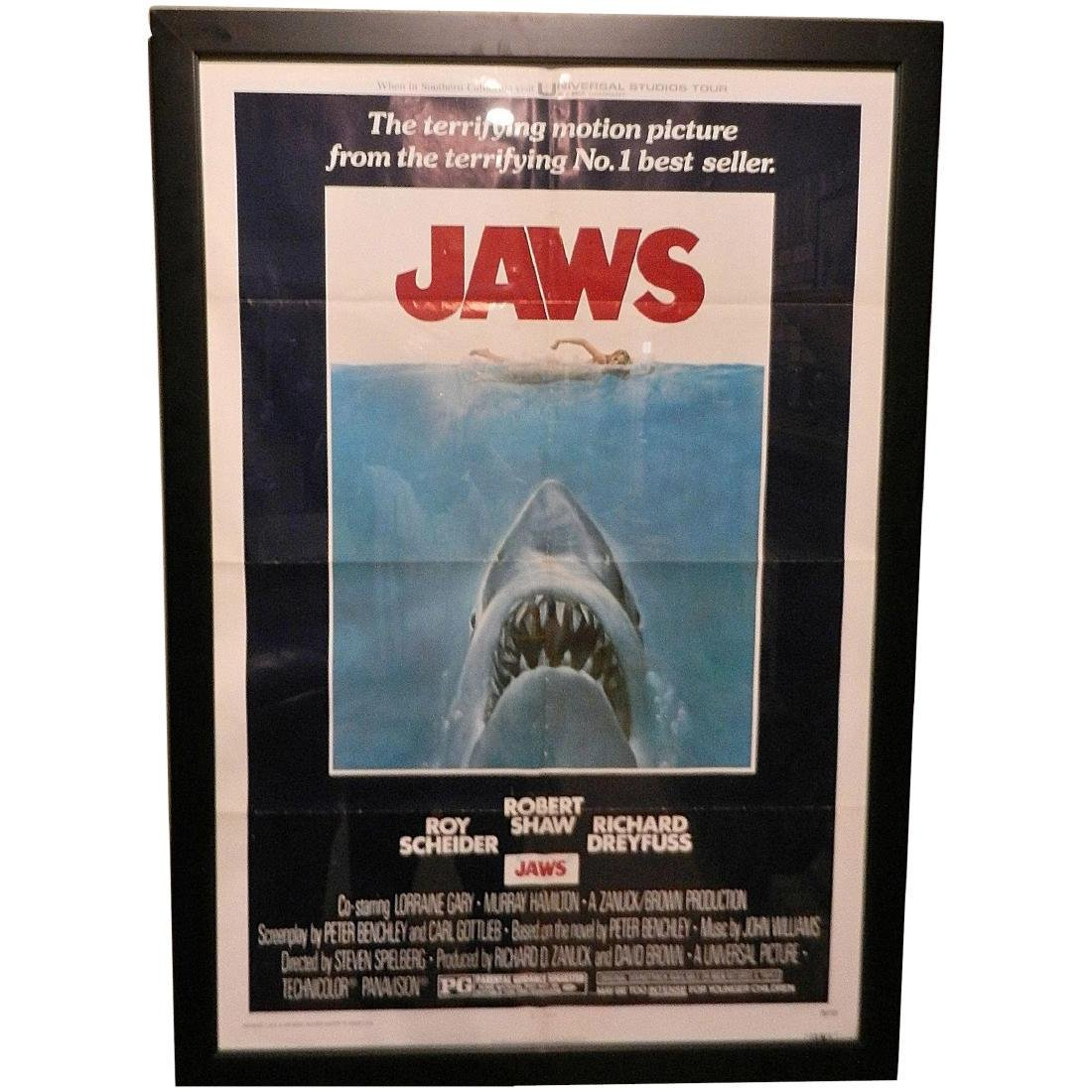 Jaws Movie Poster 1975