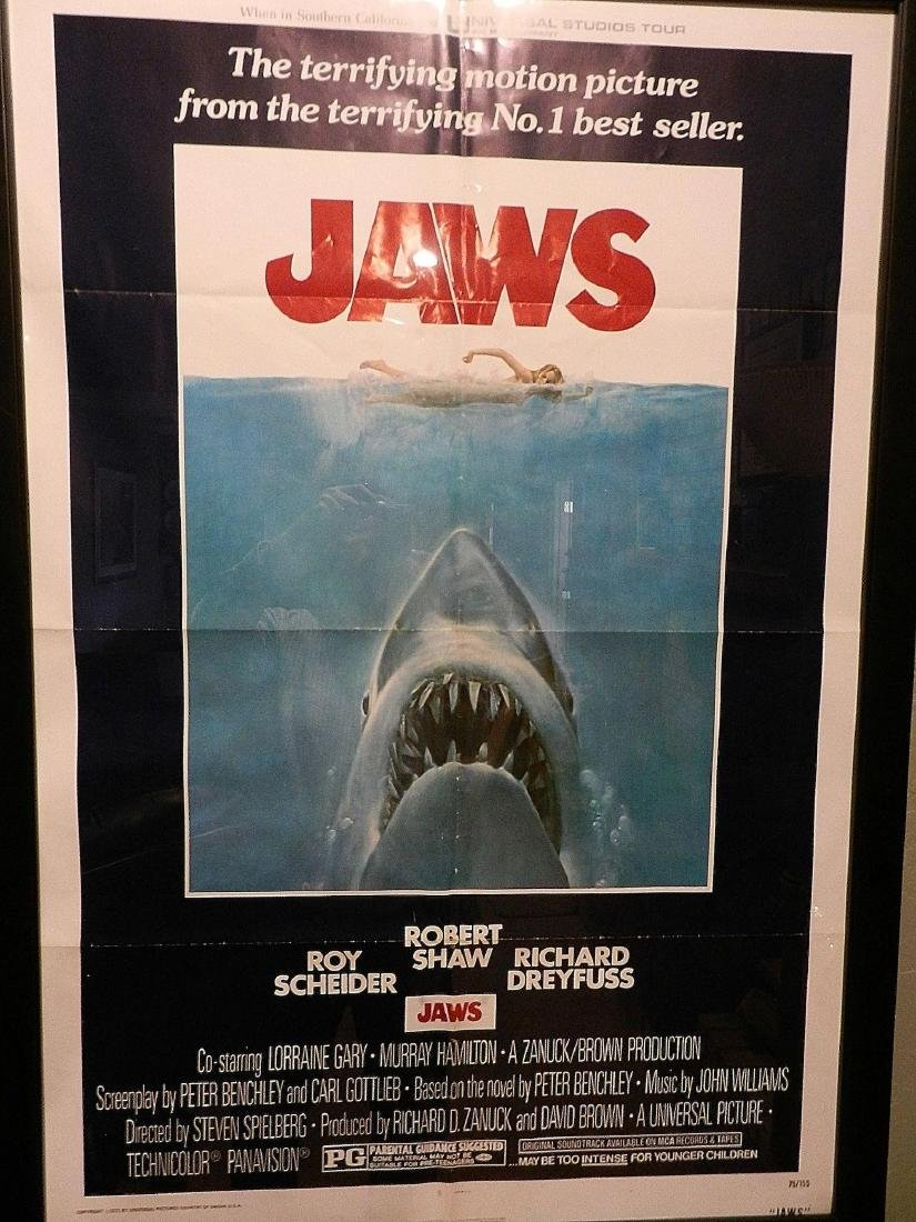 Jaws Movie Poster 1975 - 5