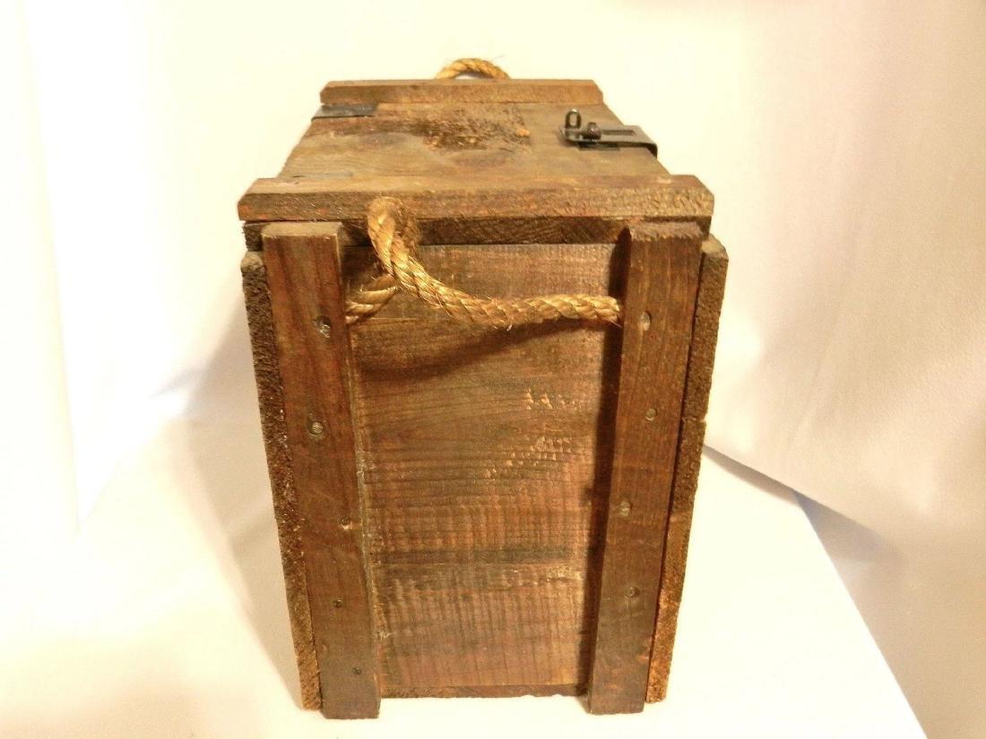 Jack Daniel's Old No. 7 Wood Bottle Whiskey Transport - 4