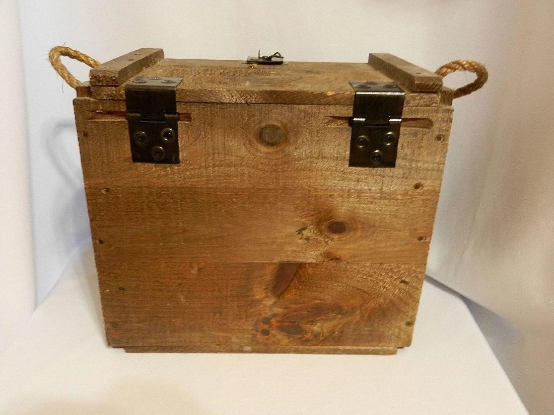 Jack Daniel's Old No. 7 Wood Bottle Whiskey Transport - 5