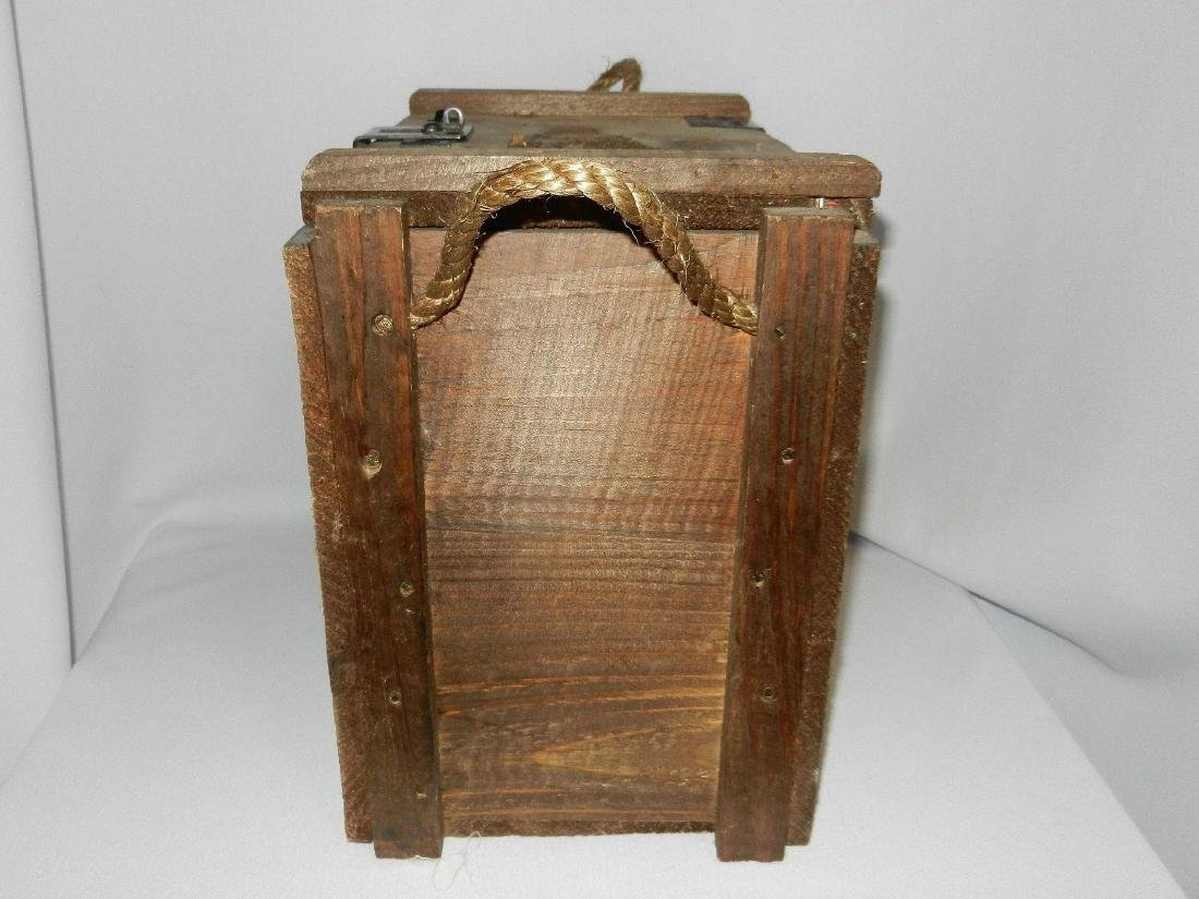 Jack Daniel's Old No. 7 Wood Bottle Whiskey Transport - 6