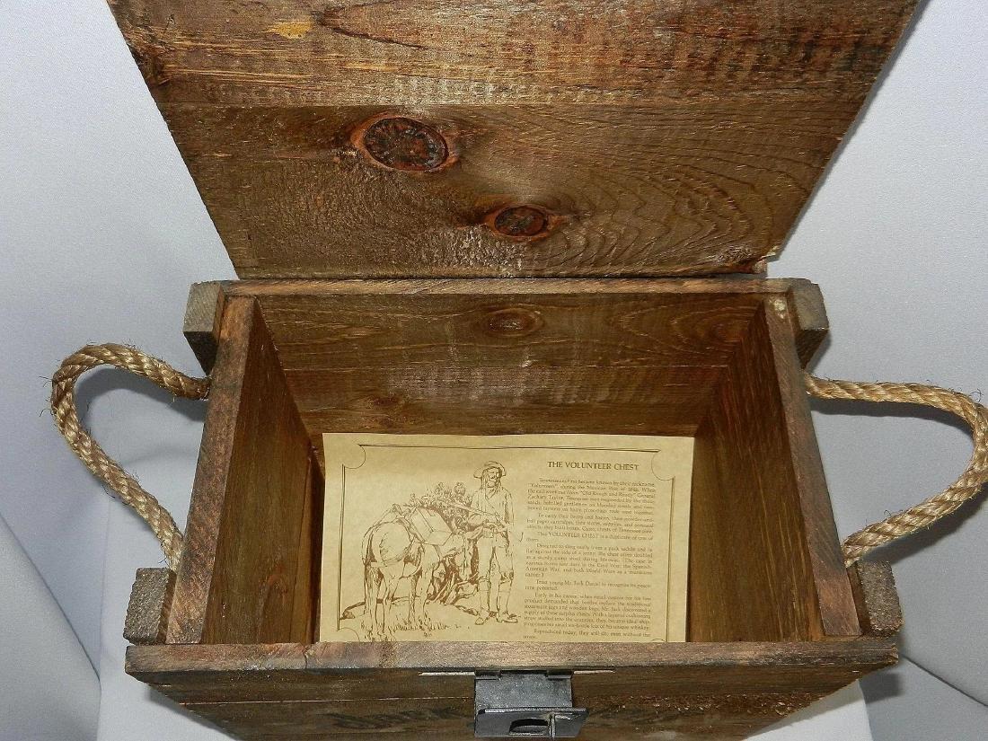 Jack Daniel's Old No. 7 Wood Bottle Whiskey Transport - 7
