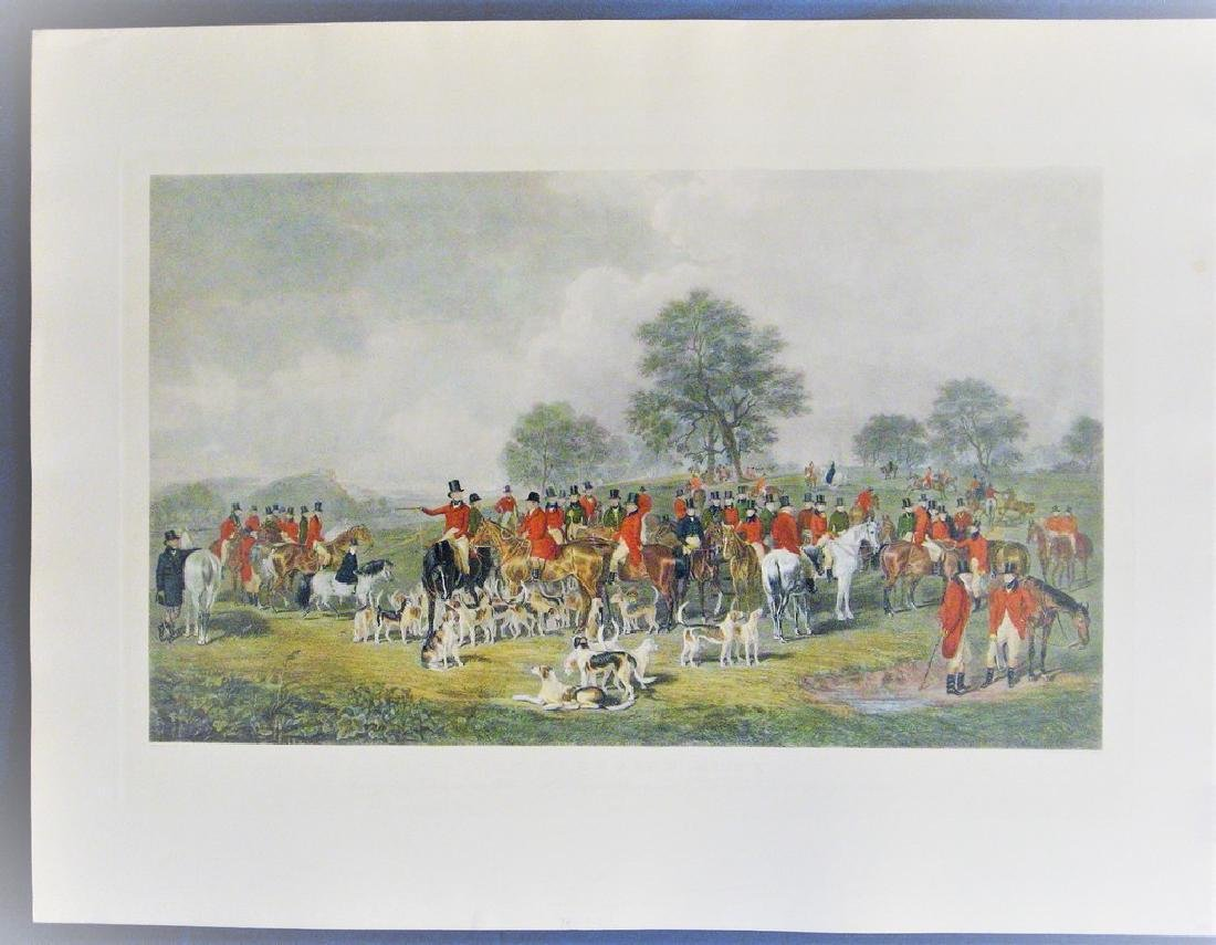 Antique Print The Cheshire Hunt