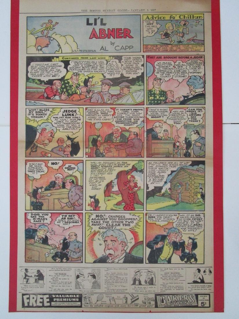 Lil Abner Comic Strip Jan3, 1937