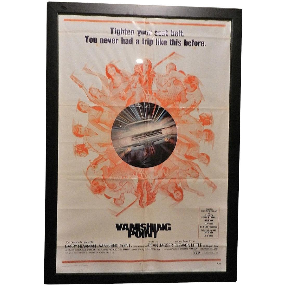 Vanishing Point Movie Poster One Sheet 1971