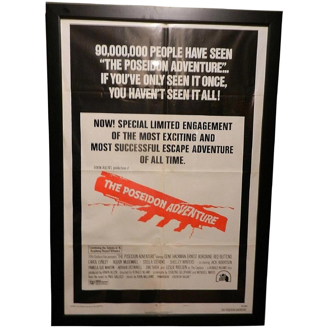 The Poseidon Adventure Movie Poster 1974