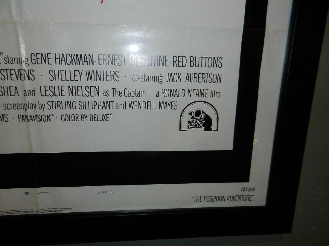 The Poseidon Adventure Movie Poster 1974 - 4