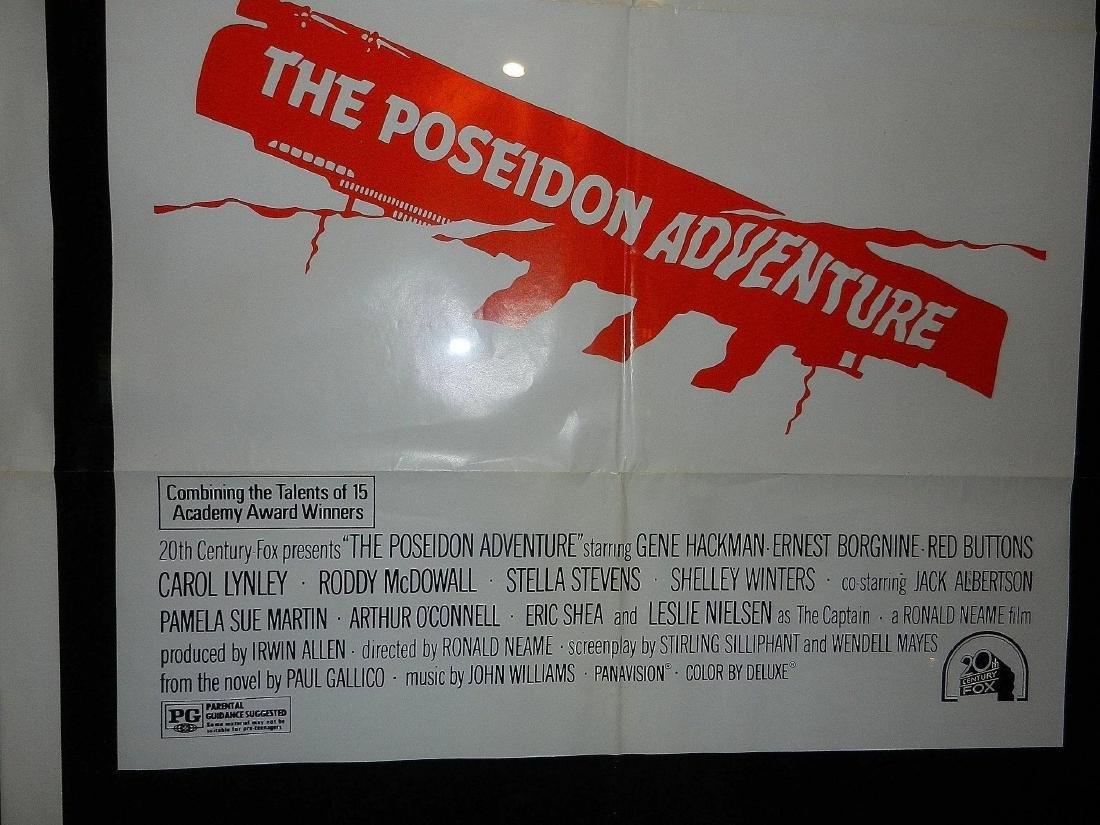 The Poseidon Adventure Movie Poster 1974 - 5