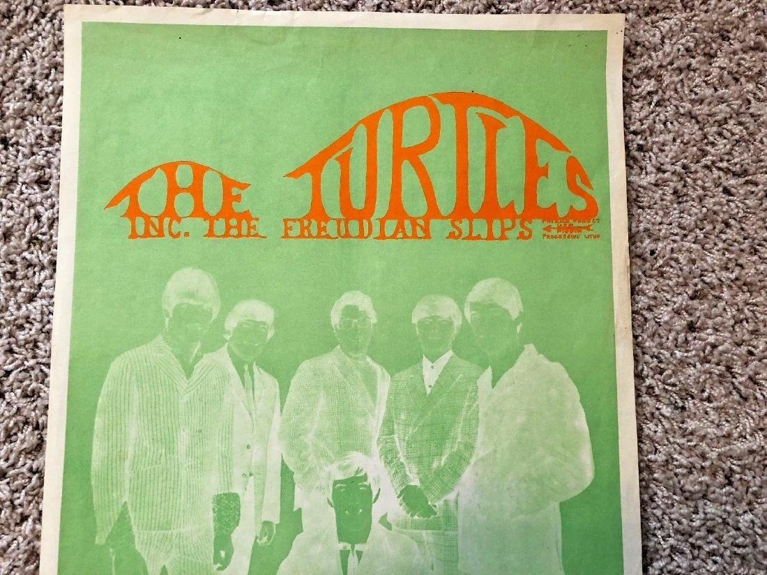 The Turtles Very Rare! Golden Gate Masonic Temple - 2