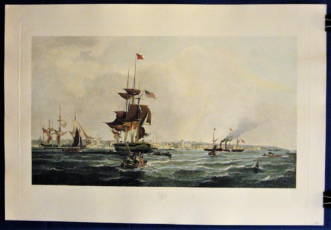 Antique Print The Port of Liverpool