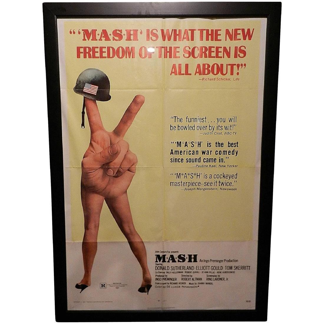 Mash Movie Poster One Sheet 1970