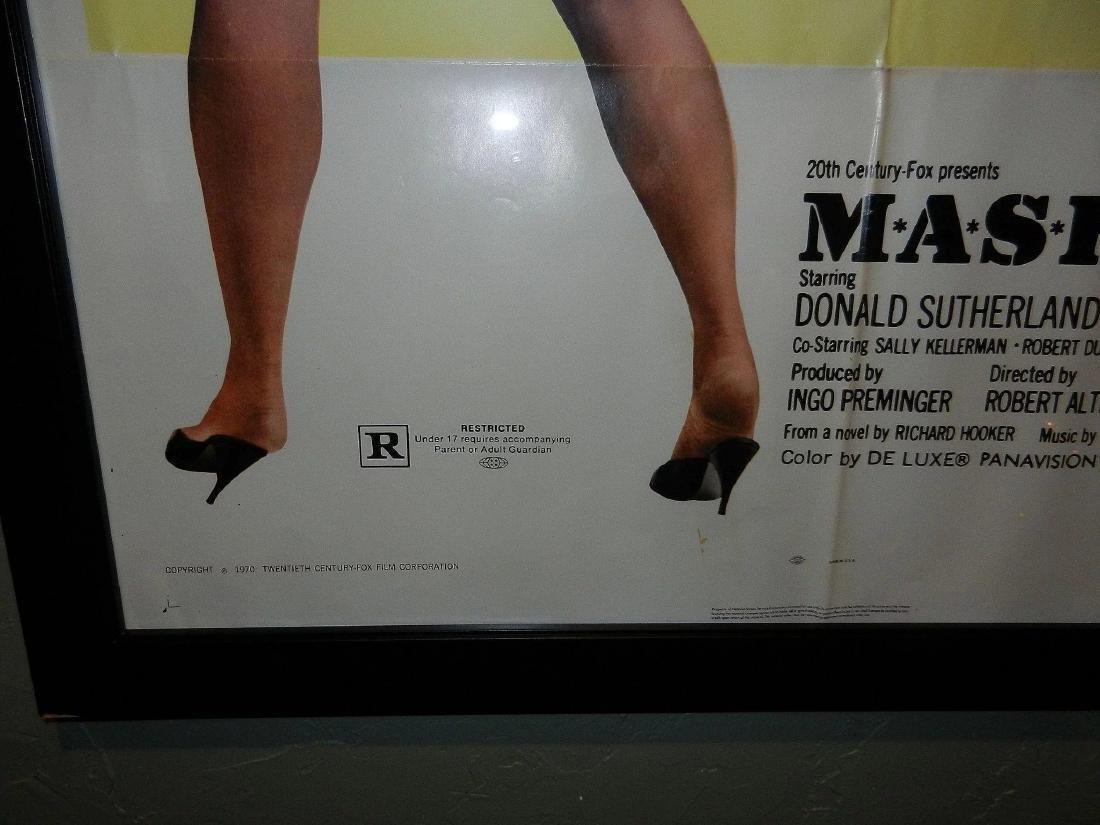 Mash Movie Poster One Sheet 1970 - 3