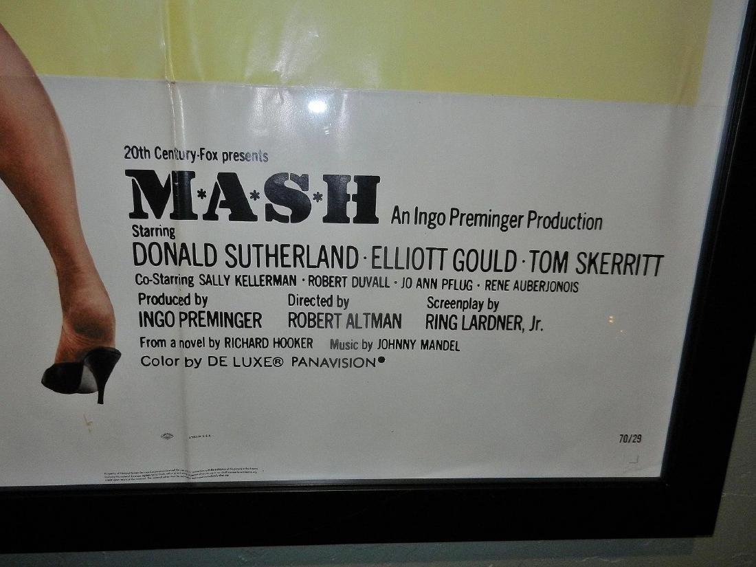Mash Movie Poster One Sheet 1970 - 4