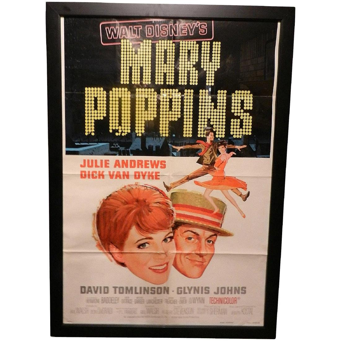 Mary Poppins 1964 Movie Poster