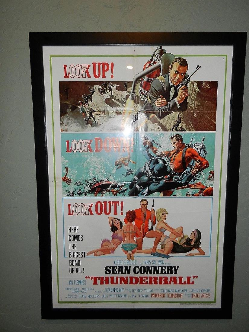 Thunderball- James Bond Movie Poster One Sheet 1965 - 2
