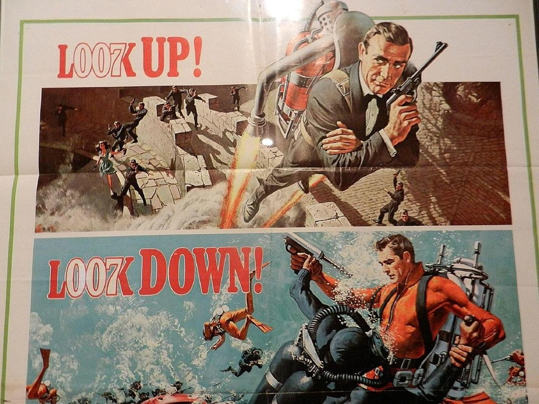 Thunderball- James Bond Movie Poster One Sheet 1965 - 3