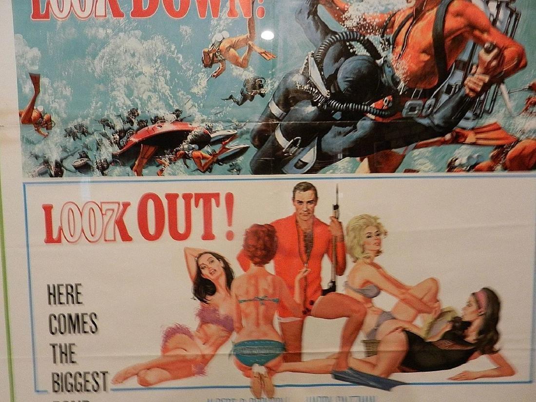 Thunderball- James Bond Movie Poster One Sheet 1965 - 4