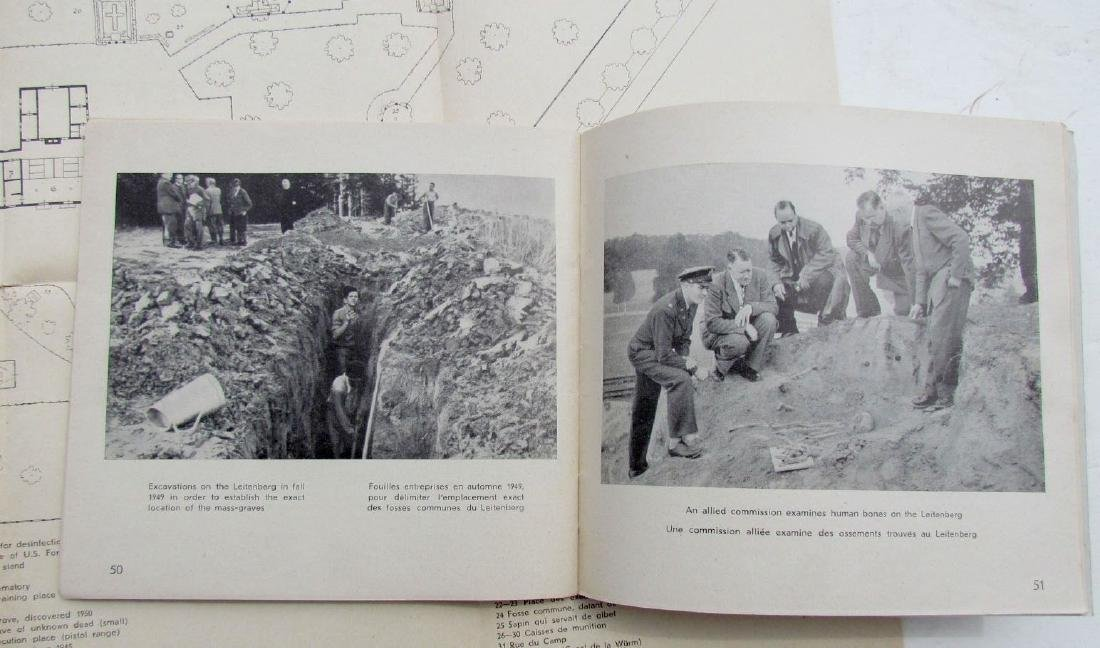 Never Again Vintage 1950 Illustrated Booklet on Dachau - 4