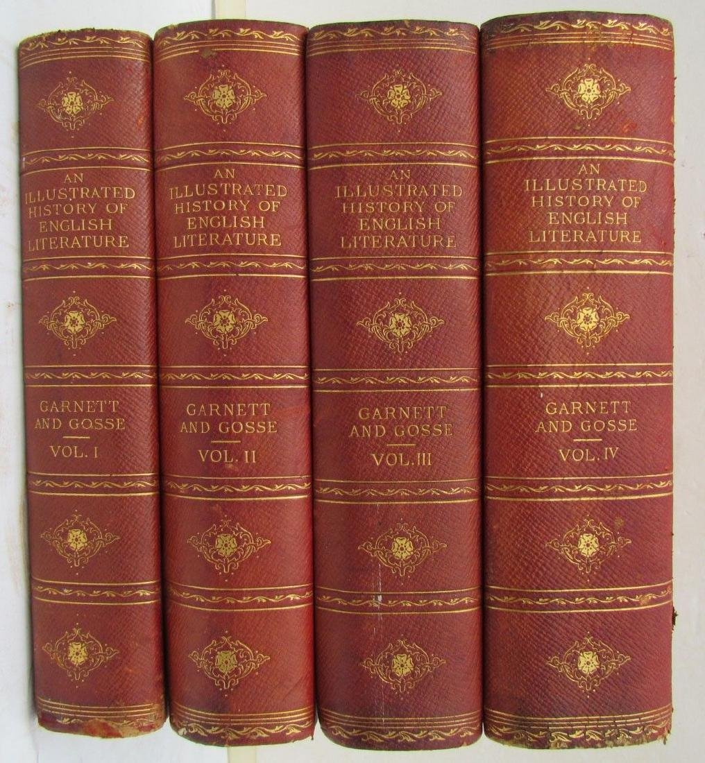 Lot of 4 1903 English Literature an Illustrated Record