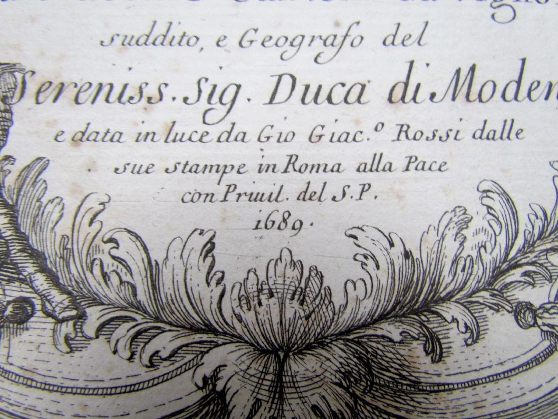 1689 Antique Map of Prussia Giovanni Giacomo De Rossi's - 3