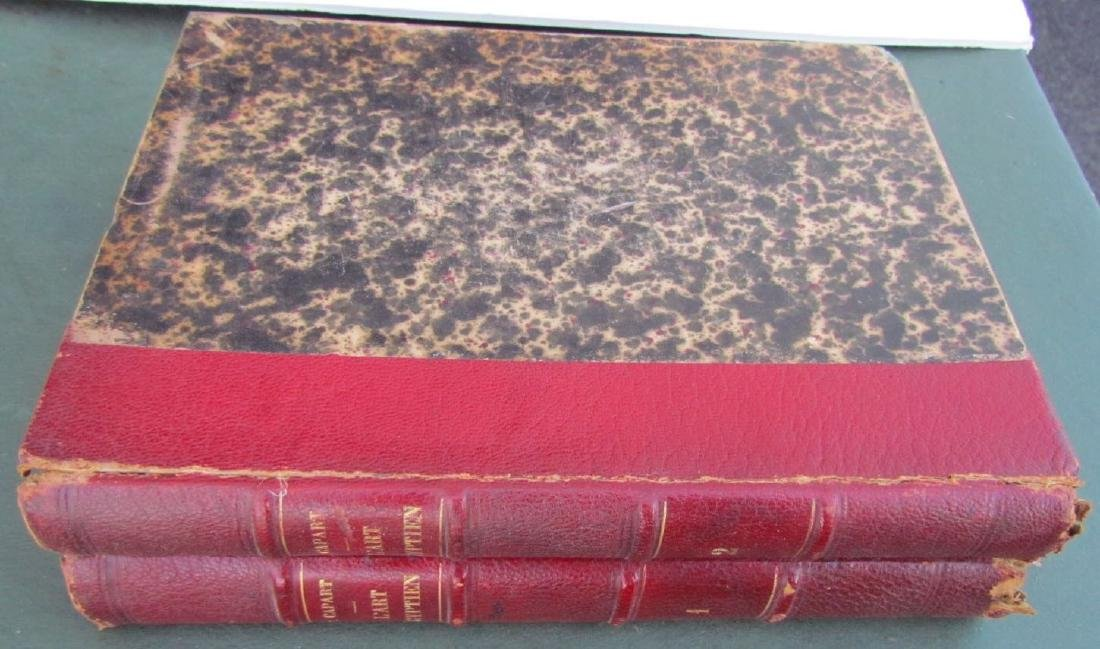 1911 Egyptian Art Illustrated 2 Volumes in French