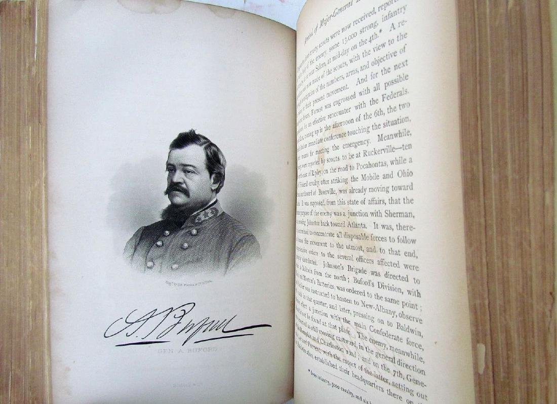 1868 Civil War Theme Campaigns Lieut.-gen. N.b.forrest - 5