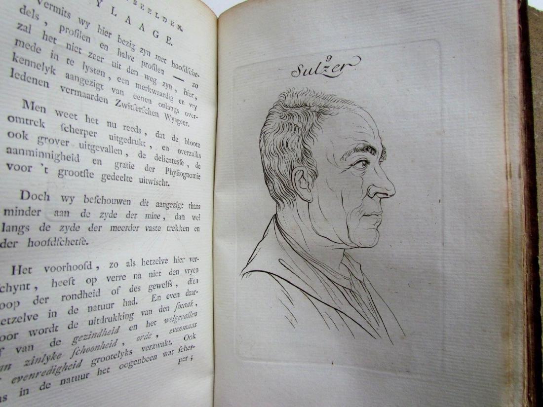 1780s 4 Volumes Antique Books on Physiognomy - 10
