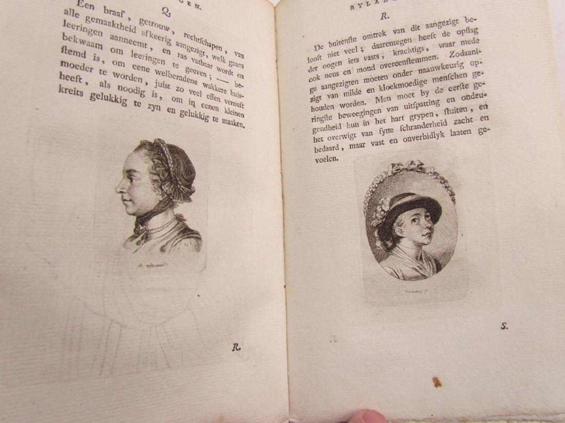 1780s 4 Volumes Antique Books on Physiognomy - 5