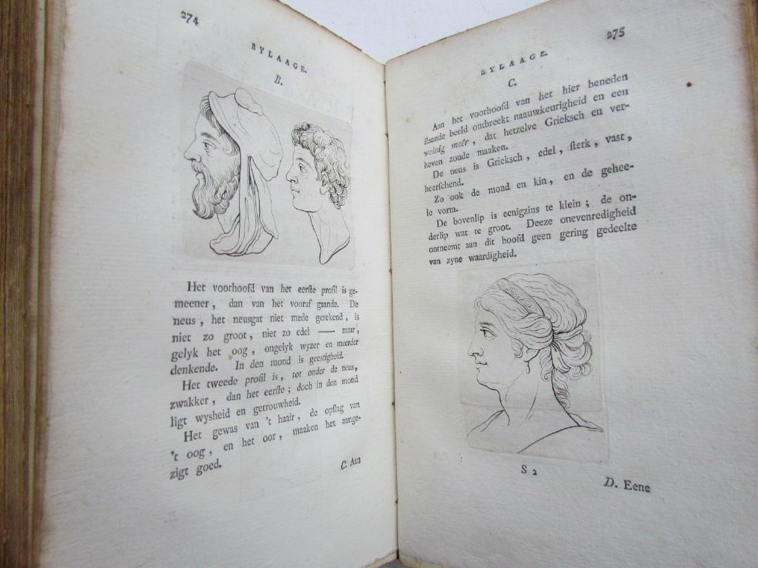 1780s 4 Volumes Antique Books on Physiognomy - 7
