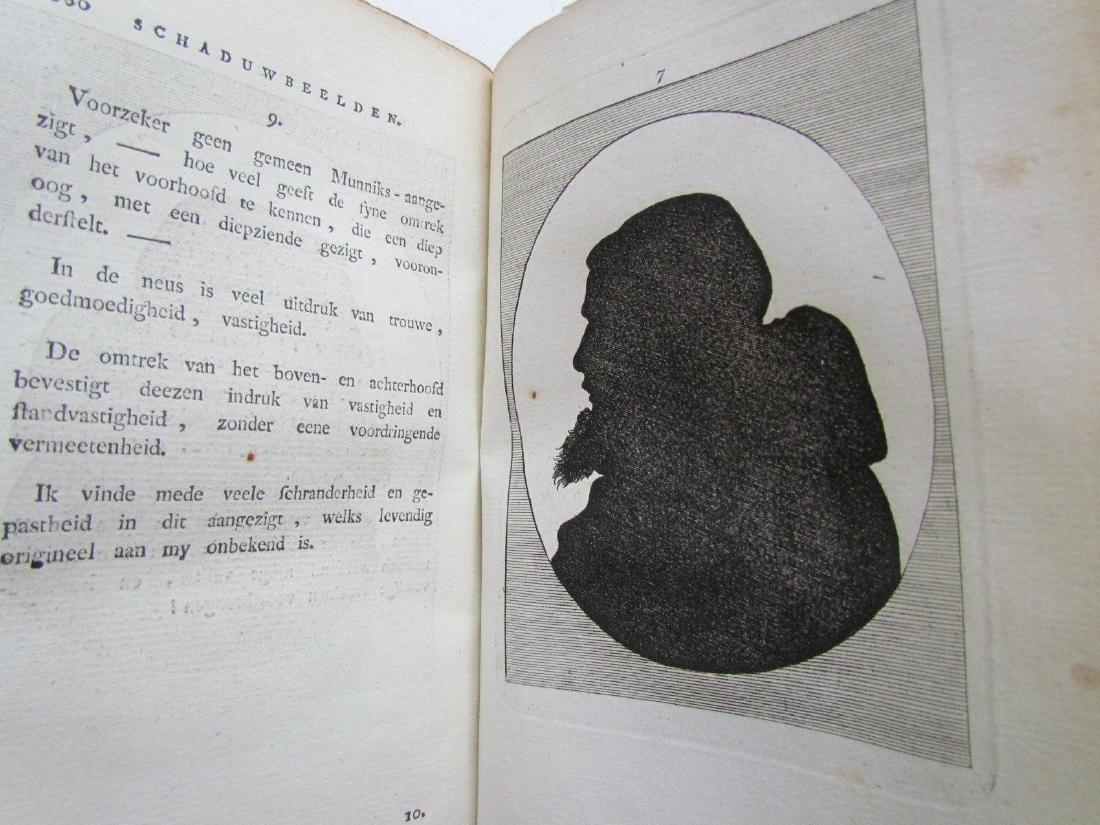 1780s 4 Volumes Antique Books on Physiognomy - 9