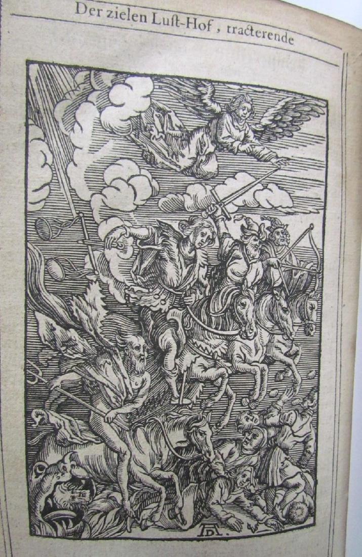 1629 Antique Illustrated Dutch Book 200 Albrecht Durer - 4