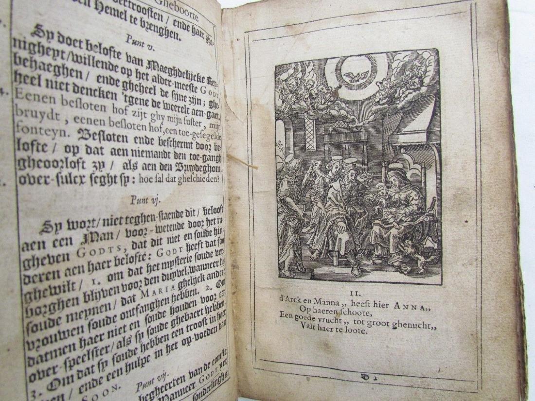 1629 Antique Illustrated Dutch Book 200 Albrecht Durer - 9
