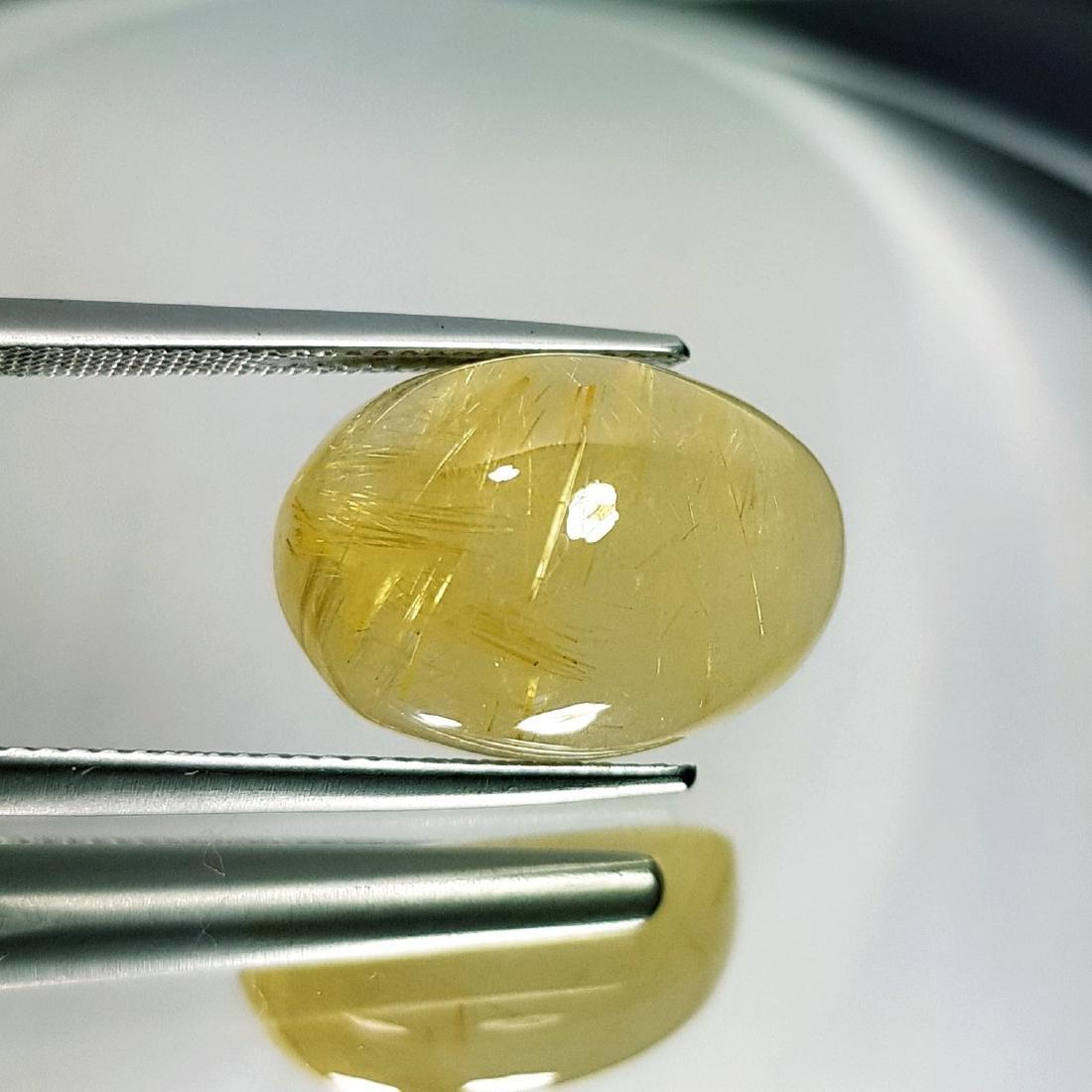 Golden Rutile Quartz - 15.93 ct - 2
