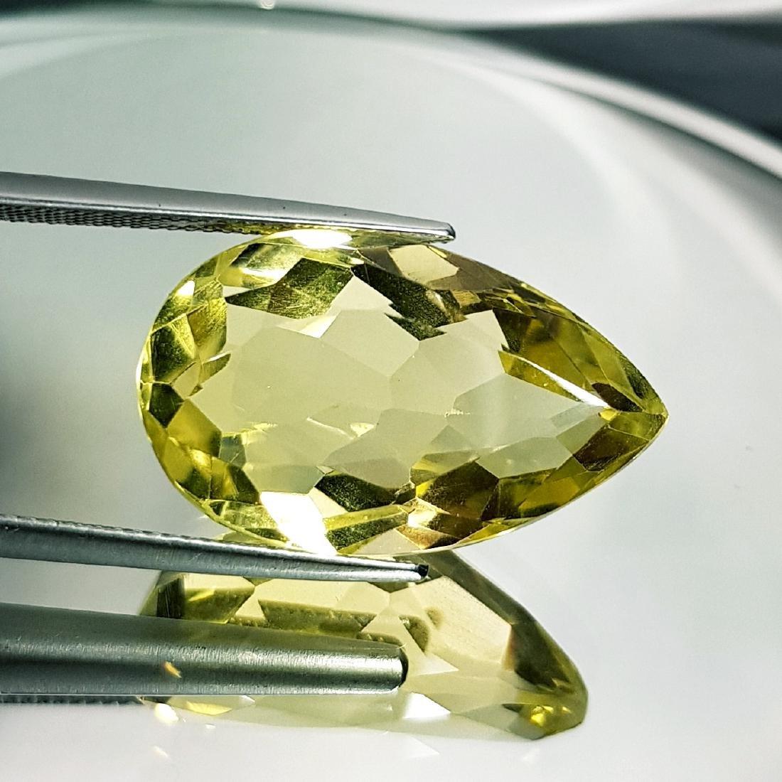 Green Gold Quartz - 26.16 ct