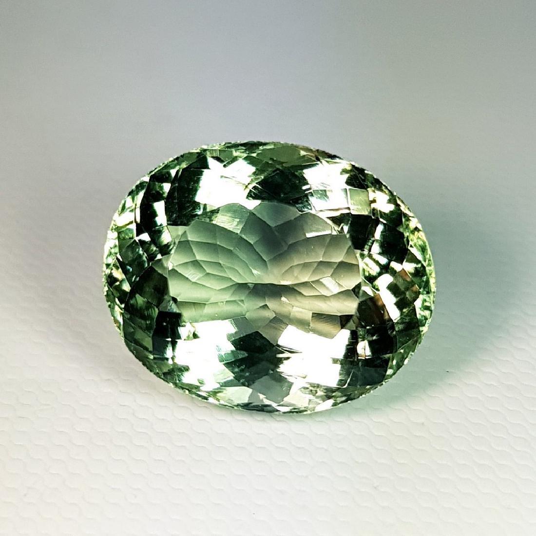 Green Amethyst - 19.22 ct
