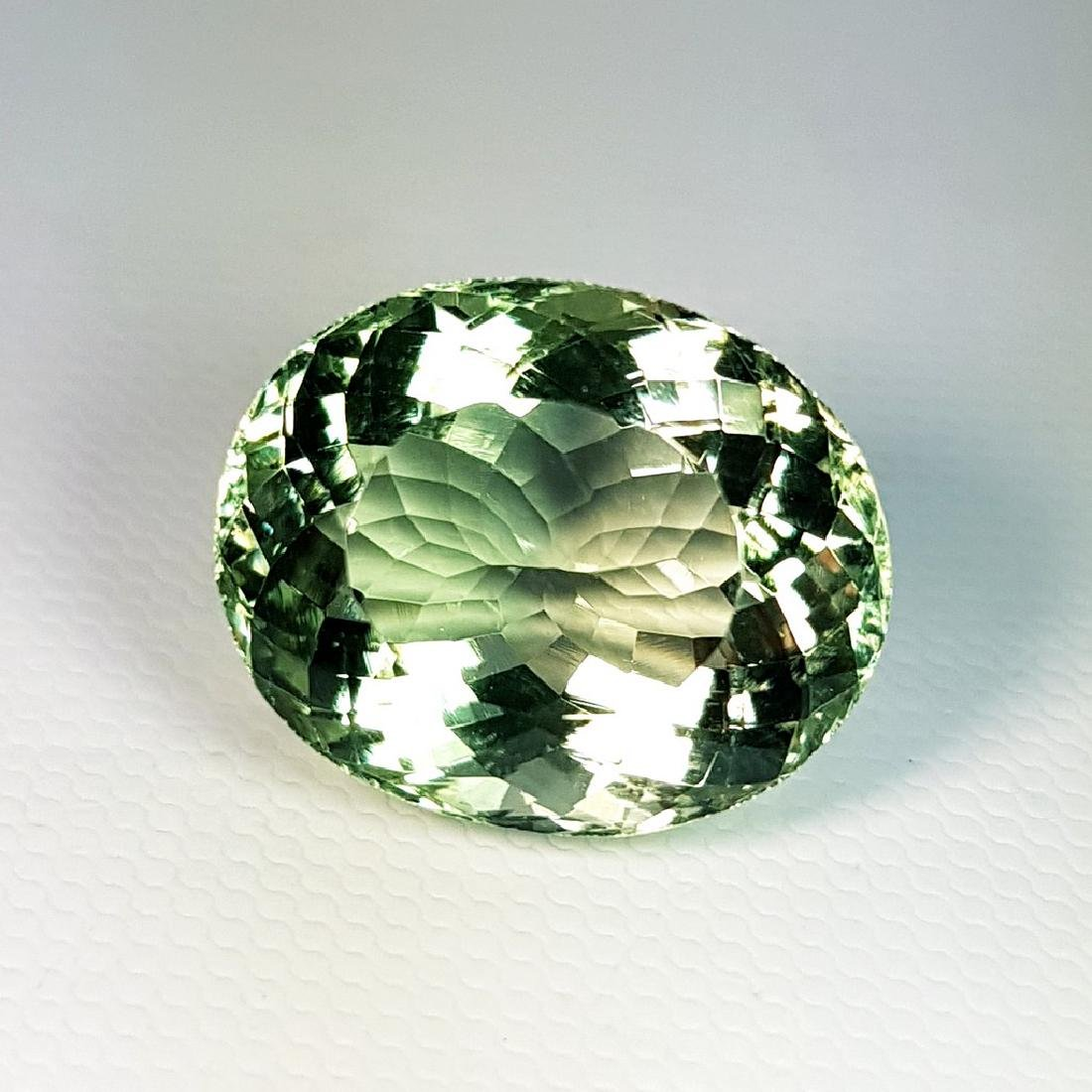 Green Amethyst - 19.22 ct - 2