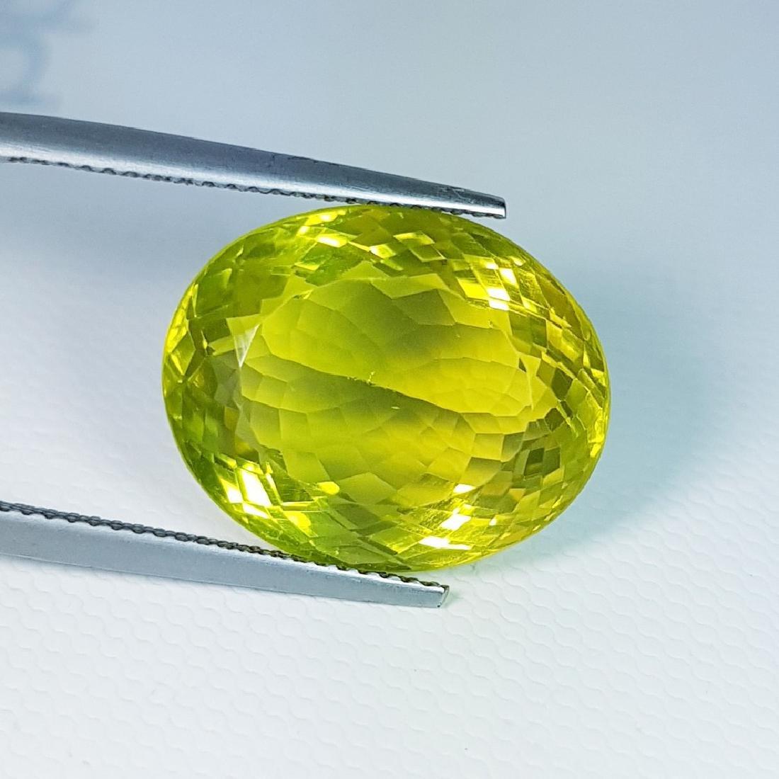 Green Gold Quartz - 15.31 ct - 2
