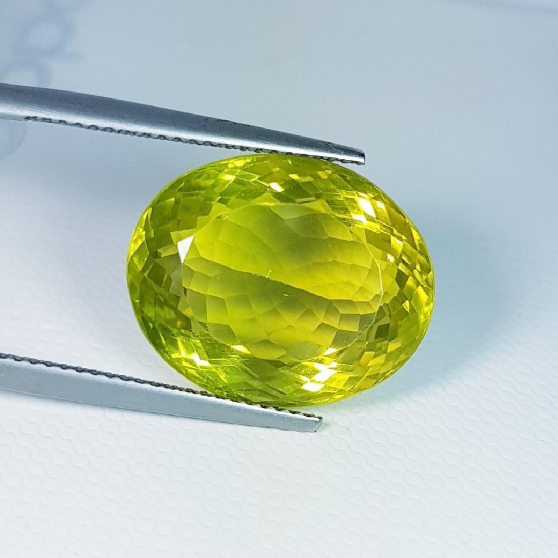 Green Gold Quartz - 15.31 ct - 3