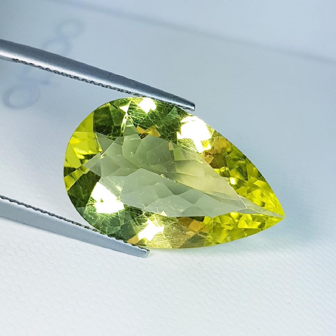 Green Gold Quartz - 13.51 ct