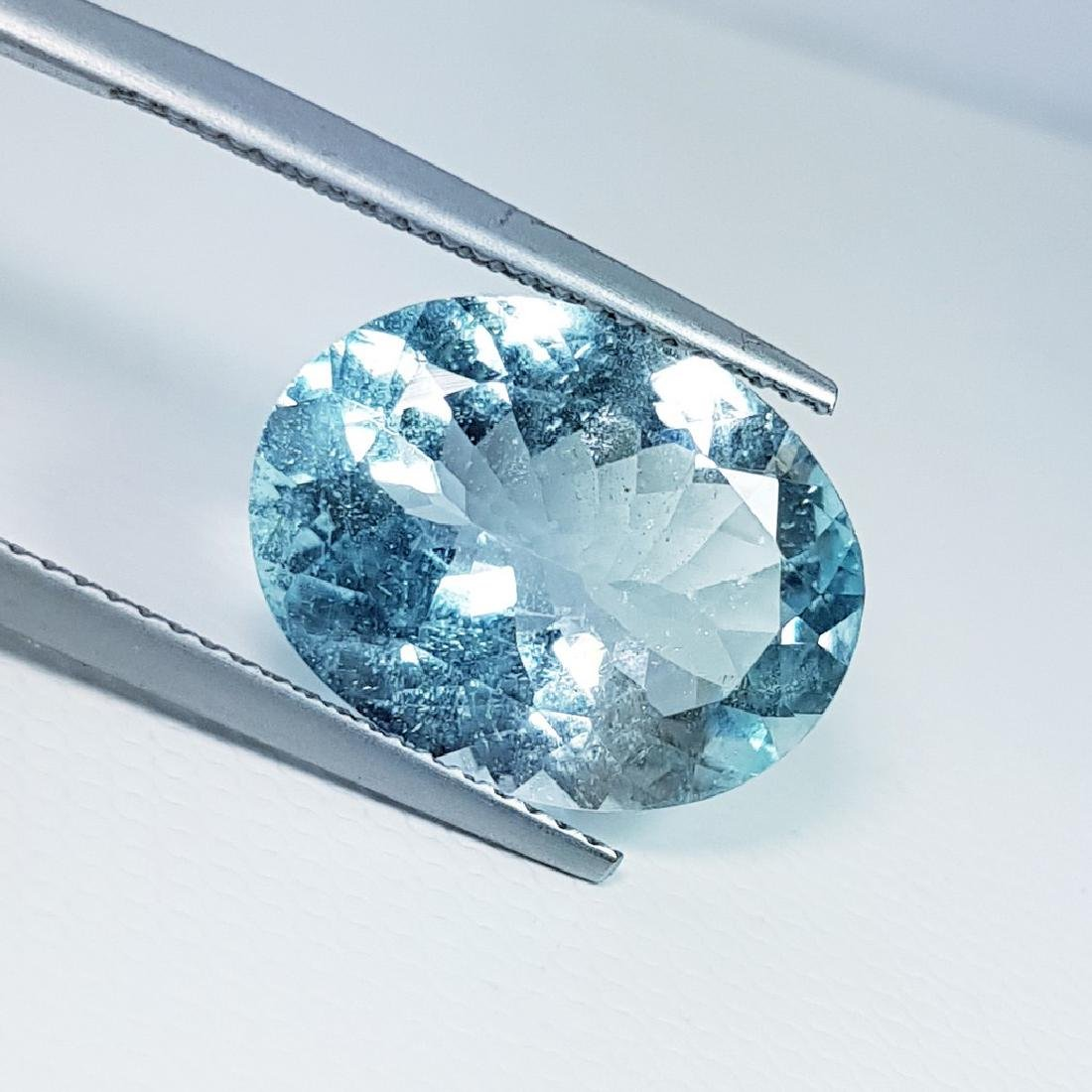 Aquamarine - 6.93 ct