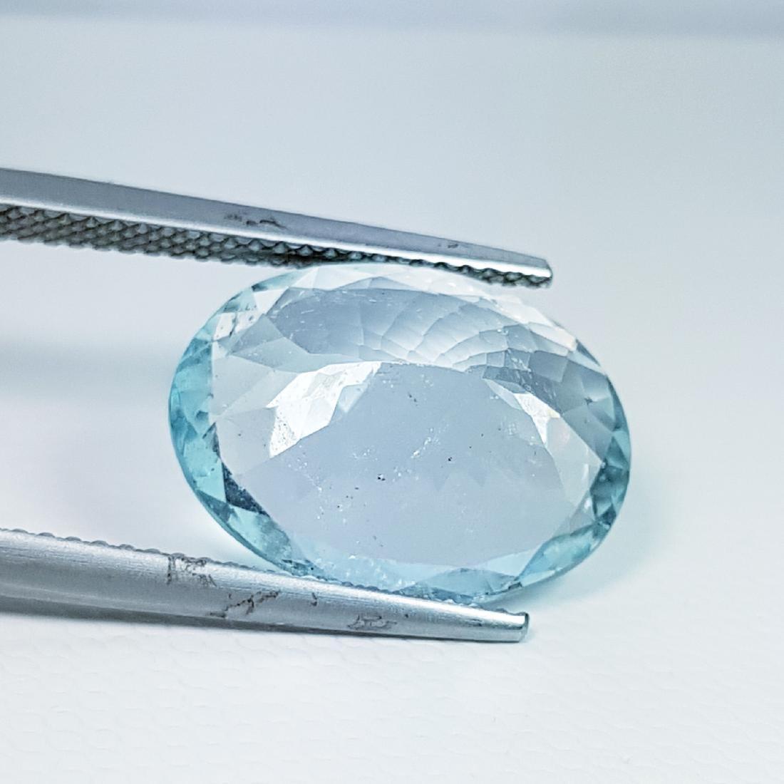 Aquamarine - 6.93 ct - 3