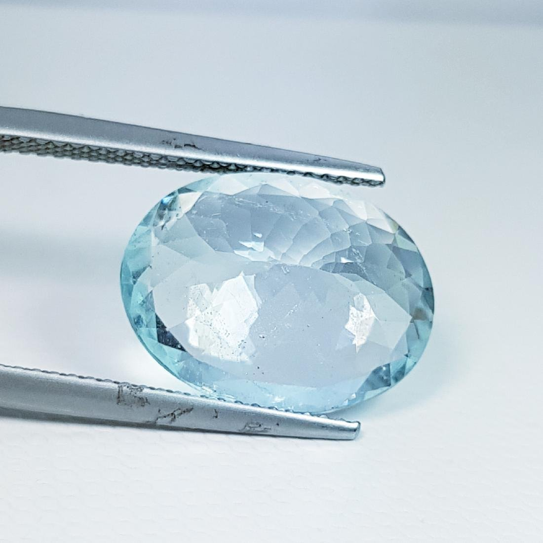 Aquamarine - 6.93 ct - 4