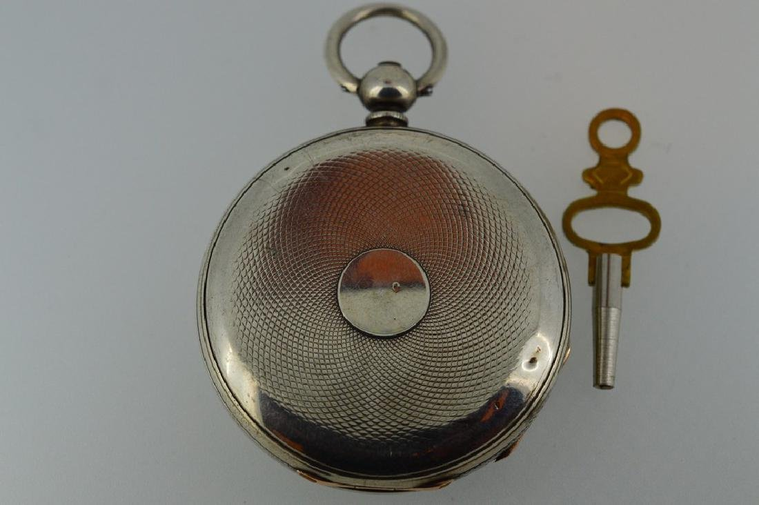 Badollet Geneve Sterling Silver Pocketwatch - 3