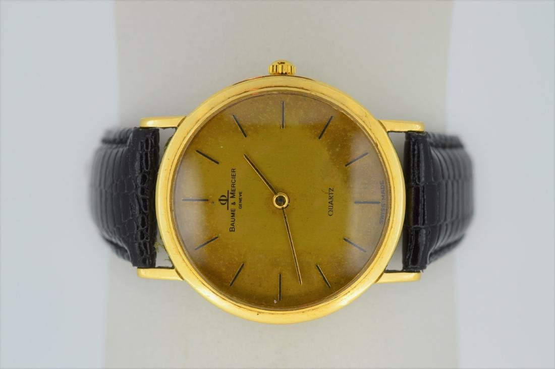 Vintage Baume & Mercier Men's 14k Yellow Gold Classima