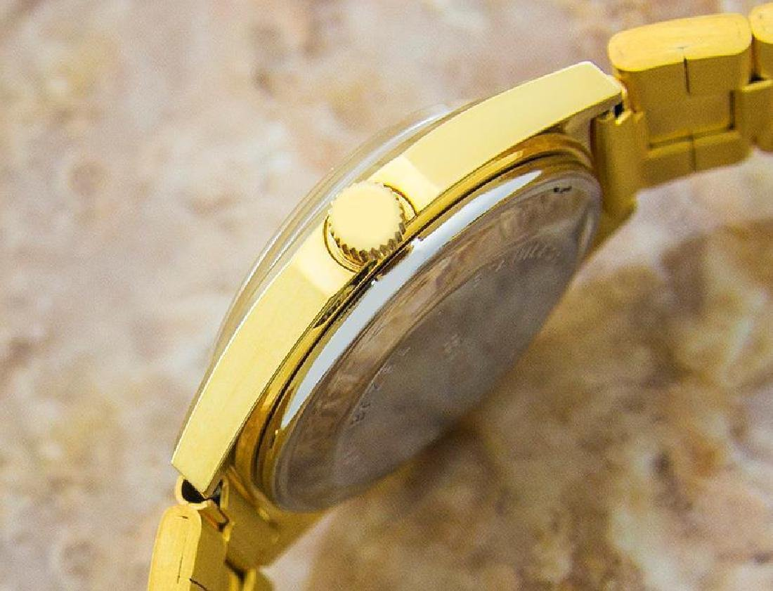 Swiss Made Benrus Luxury Automatic Gold Plated Watch - 4