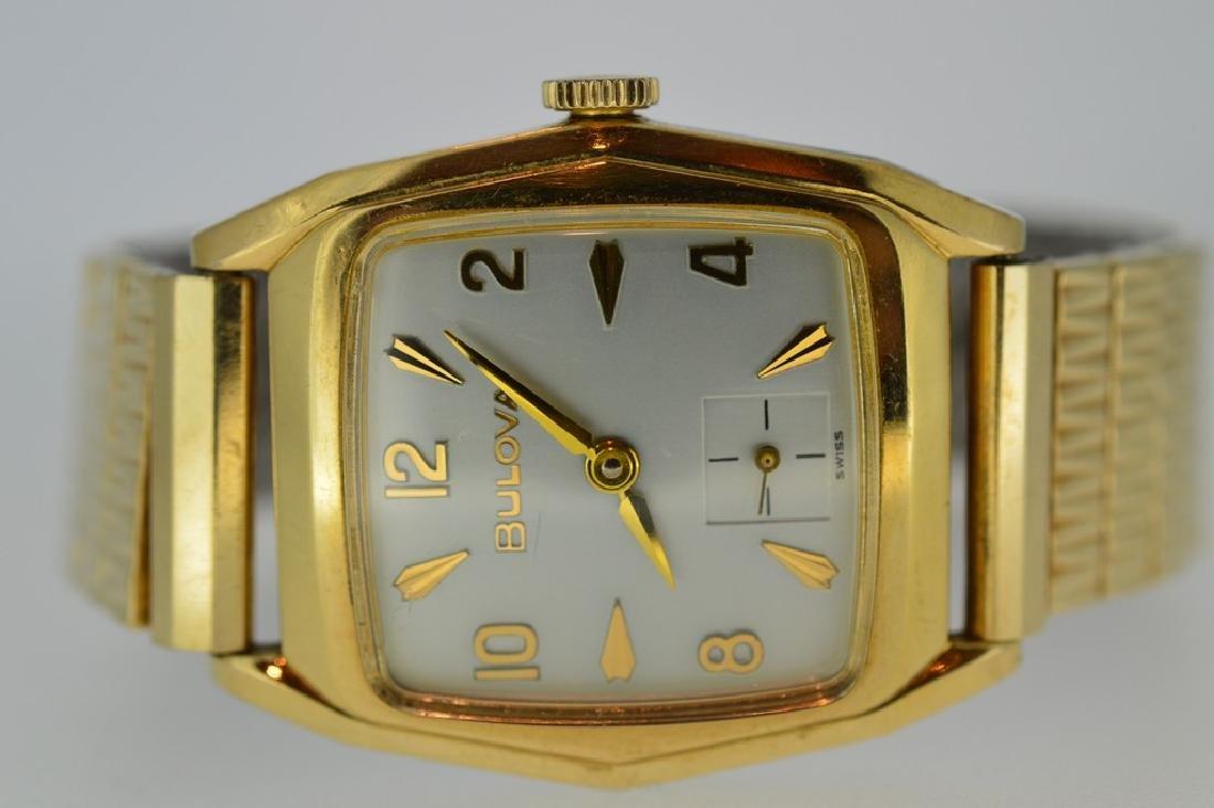 Men's Bulova 14k Gold Filled Watch - 3