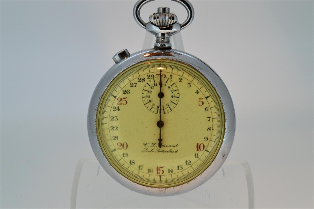 C.L. Guinand Locle Swiss Stopwatch