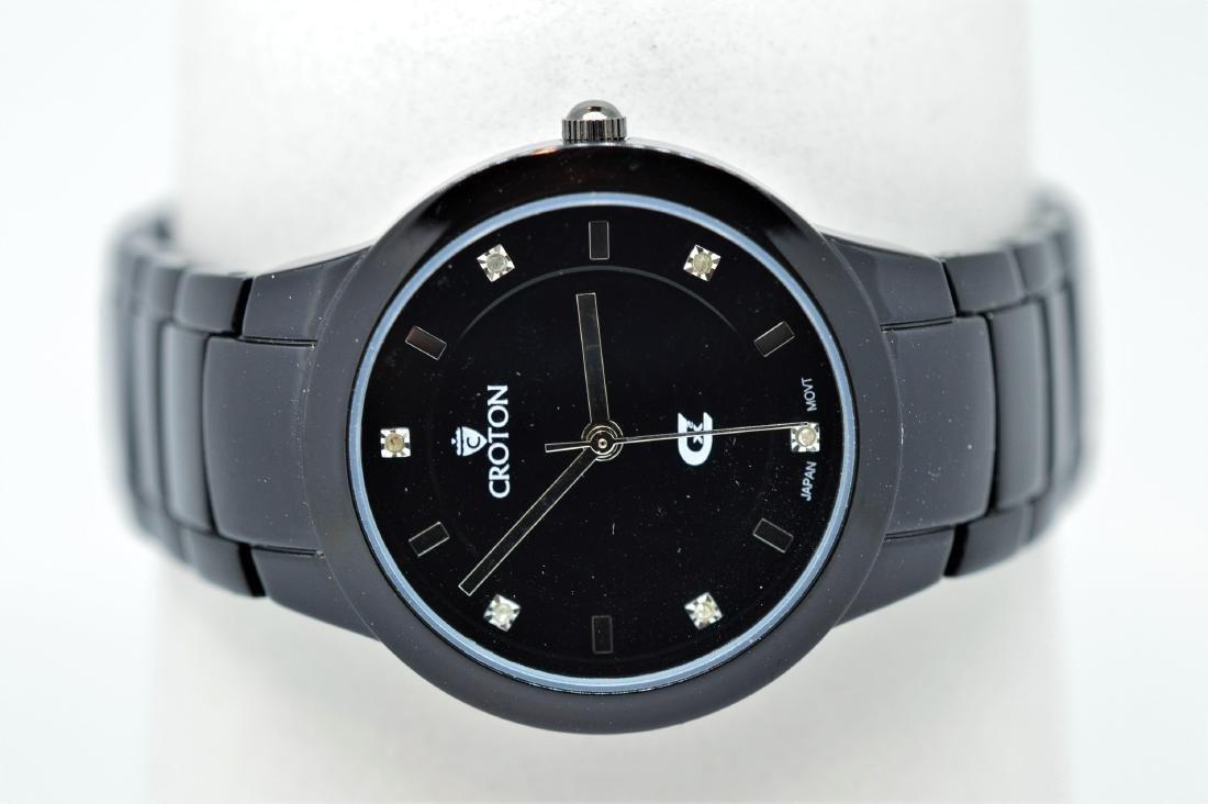 Ladies Croton Stainless Steel Wristwatch