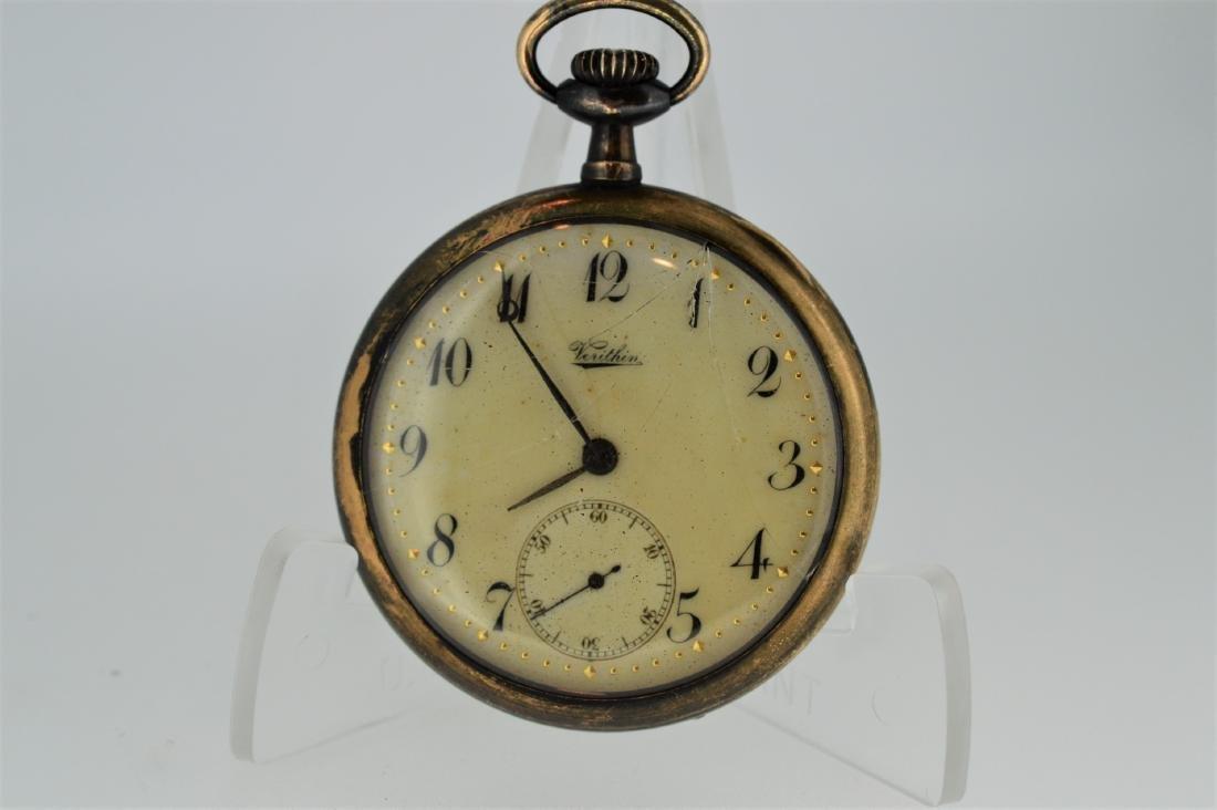 Dietrich-Gruen Verithin Gold-Filled Pocketwatch