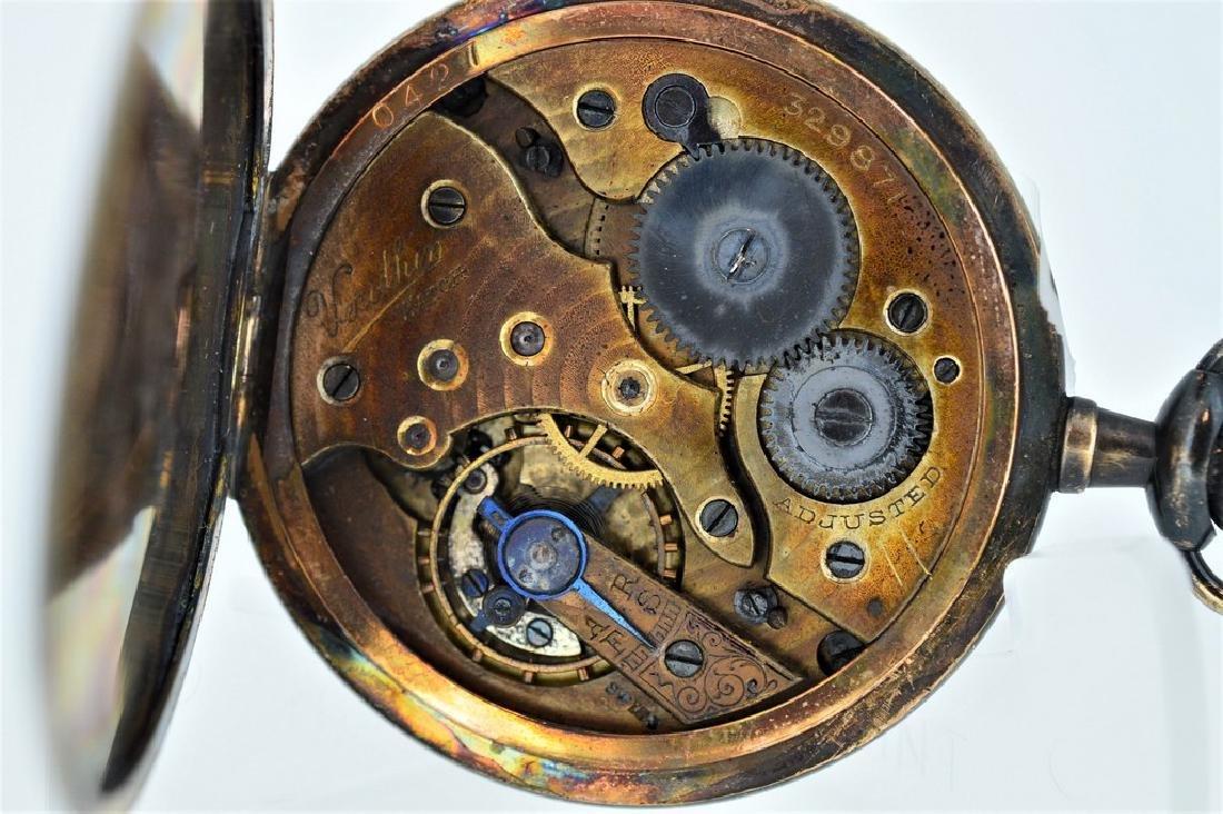 Dietrich-Gruen Verithin Gold-Filled Pocketwatch - 4
